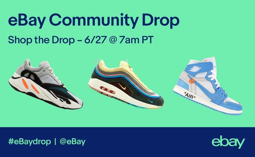 eBay kicks off its first community sneaker drop