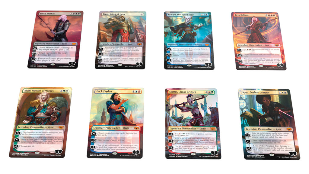 Magic: The Gathering Ravnica Allegiance Mythic Edition cards