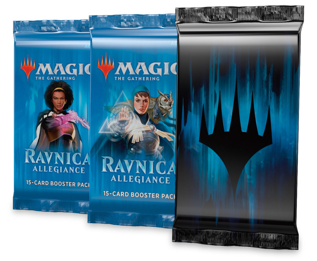 Magic: The Gathering Ravnica Allegiance Mythic Edition card packs